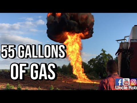 55 Gallon Drum Filled with Gasoline: how to fix broken internet