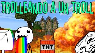 TROLL TROLLEADO | TROLLEANDO EN MINECRAFT 5