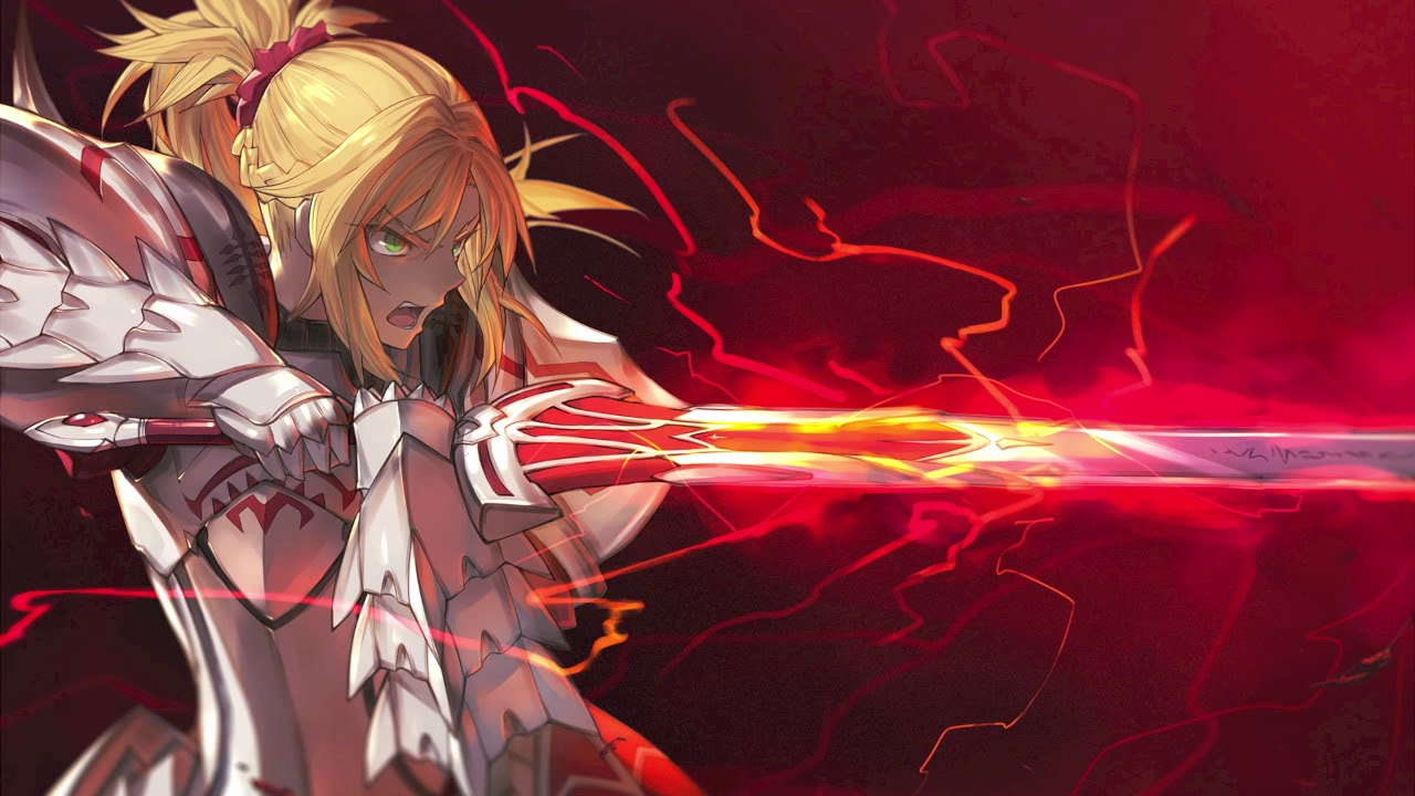 Anime Girl Epic Wallpapers Fate Apocrypha Ost The Knight Of Rebellion Mordred S