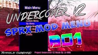 [BO1/1.13/SPRX] Project Undercover v2 Mod Menu