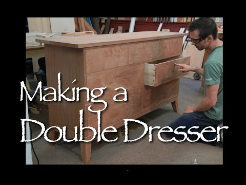 Double Dresser Building Process By Doucette And Wolfe