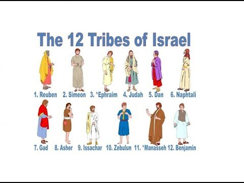 12 Tribes Of The Israel Star Of David And Zodiac Youtube