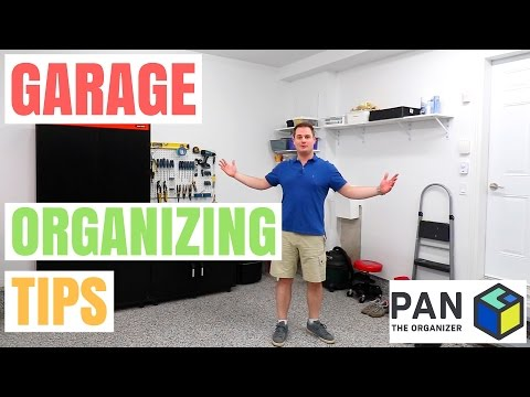 HOW TO ORGANIZE YOUR GARAGE, TOOLS & HARDWARE !!!