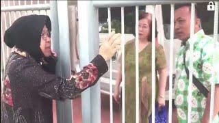 Walikota Risma Kunjungi Gereja di Surabaya