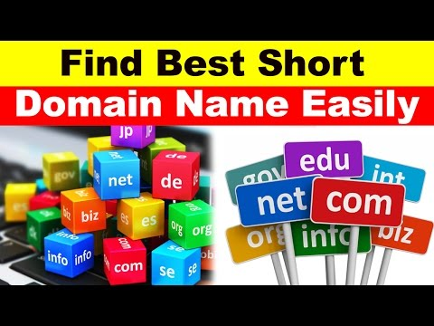How to Find The Best Short Domain Name in Few Seconds