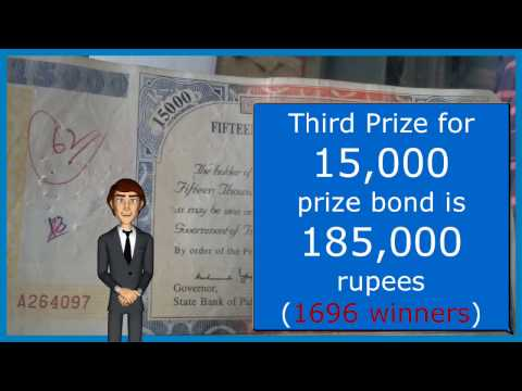 15000 Rupees Prize Bond Explained - Earn Money in Pakistan with 15000 Prize Bond