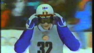 1984 Winter Olympics - 90 Meter Ski Jump Part 2