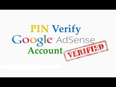 How to Verify address in Google AdSense Account Without PIN 100% Work !
