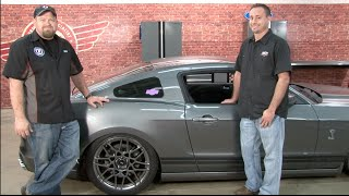 Mustang Air Lift Performance Complete Digital Air Suspension Kit Install 2005-2014