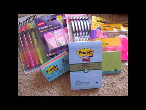 I Have A Small Addiction - Staples Office Supply Haul