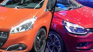 2017 Renault Clio vs. 2017 Peugeot 208