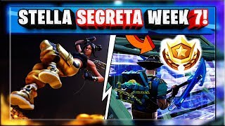 STELLA SEGRETA WEEK 7 SEASON 8 FORTNITE! WEEK 7 SECRET BATTLE STAR LOCATION GUIDE