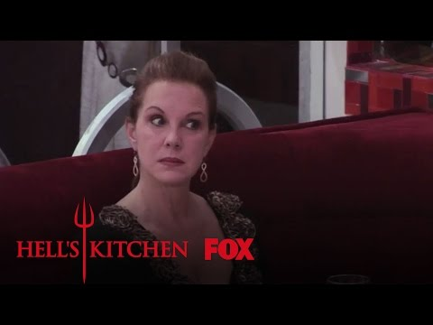 Elizabeth Perkins Watches The Red Team Falter  Season 12 Ep. 6  HELL'S KITCHEN
