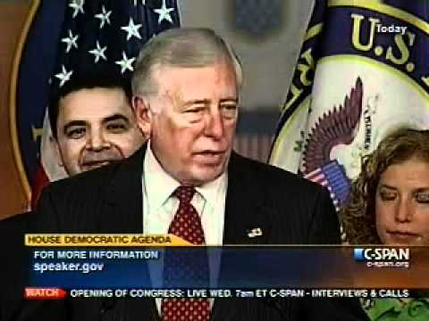 Democratic Agenda Press Conference for 112th Congress