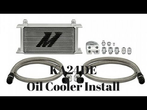 Project 240sx Build Oil Cooler, Oil Filter Relocation and