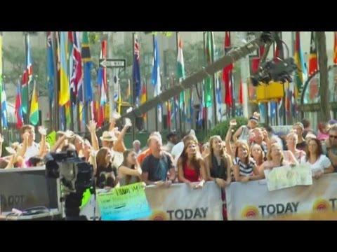 The Today Show - What It's Like To Be In The Live Audience On Rockefeller Plaza