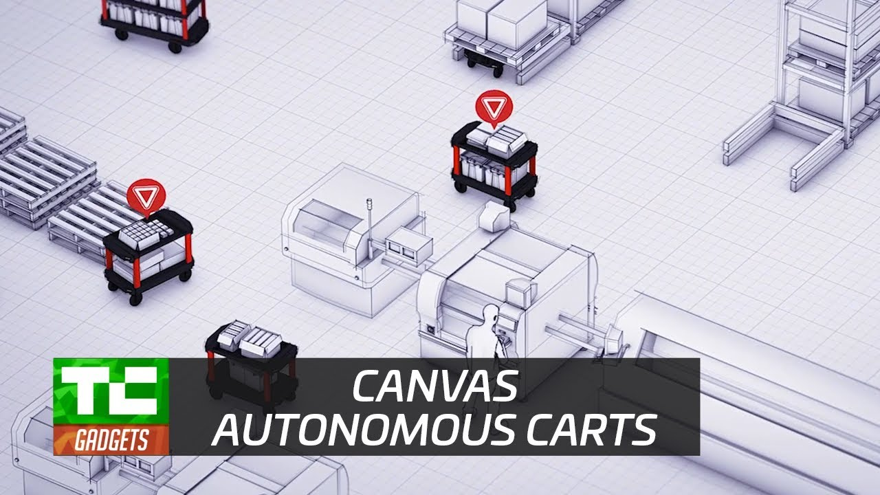 Canvas' robot cart could change how factories work