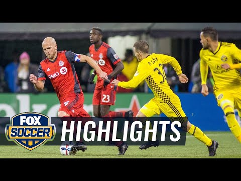 Columbus Crew SC vs. Toronto FC | 2017 MLS Playoff Highlights