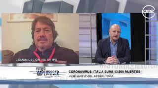 Coronavirus: José Luis Vivas desde Italia