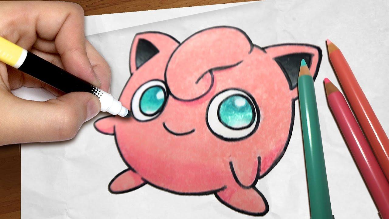 Como Desenhar O Jigglypuff Pokemon Passo A Passo 61 Youtube