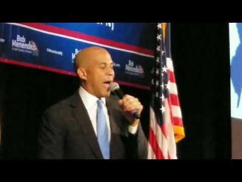 Booker Addresses N.J. Democrats