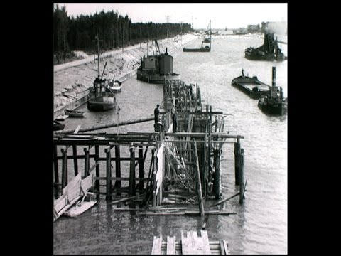 Bygget av Falsterbokanalen 1940 42