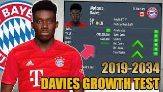 ALPHONSO DAVIES GROWTH TEST (2019-2034) - FIFA 20 Career Mode