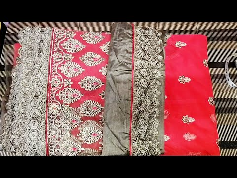 Blouse design /easy patchwork blouse back neck design cutting and stitching