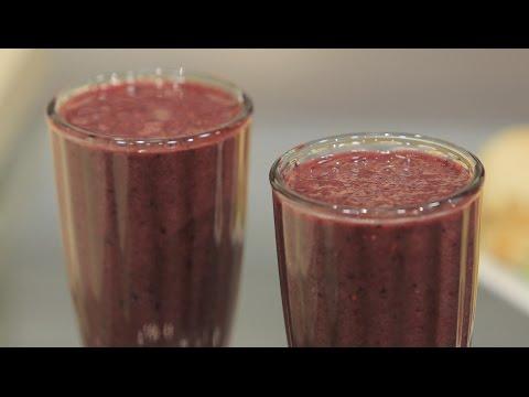 عصير الكيوي بالفراولة : غادة جميل
