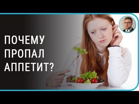 Нет аппетита болит живот