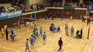 【バレーボール】清風高校と大谷高校のスパイク練習