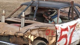 Mitchell Fair Demolition Derby 2015 | 8cyl