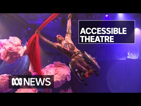 Ground-breaking theatre created to be accessible to all audiences   ABC News