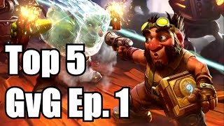 HEARTHSTONE FUNNY MOMENTS & PLAYS GvG Ep. 1