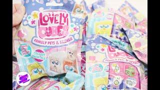 """Игрушки для детей """"Lovely Cubes"""". Питомцы и их малыши. Развивающие игрушки."""
