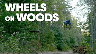 Skating Through A Forest with Gustavo Ribeiro, Ryan Decenzo & Friends |  WHEELS ON WOODS