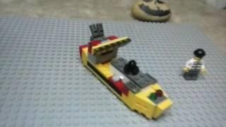 Lego Cargo Ship Review