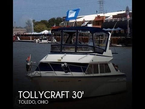 [UNAVAILABLE] Used 1987 Tollycraft 30 Sport Cruiser in Toled