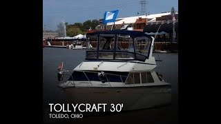 Used 1987 Tollycraft 30 Sport Cruiser for sale in Toledo, Ohio