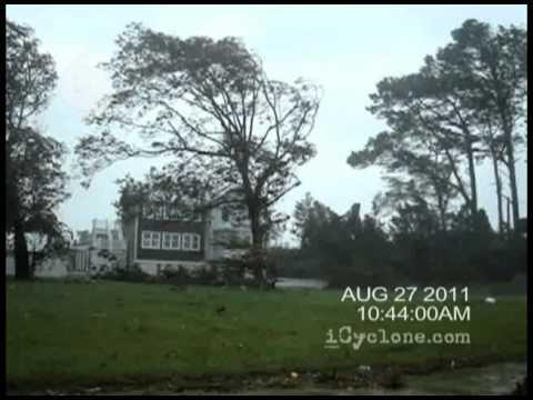 Hurricane IRENE in Marshallberg, NC (2011)