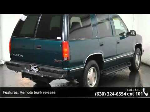 1998 gmc yukon sle youtube youtube