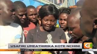 Wasafiri wahangaika tangu asubuhi Kitale kwa ukosefu wa magari ya usafiri wa umma.