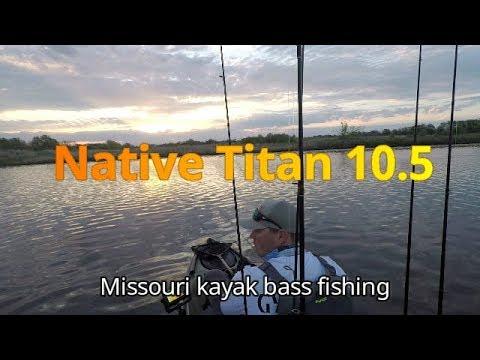 Maple Leaf Morning- Missouri Kayak Bass Fishing