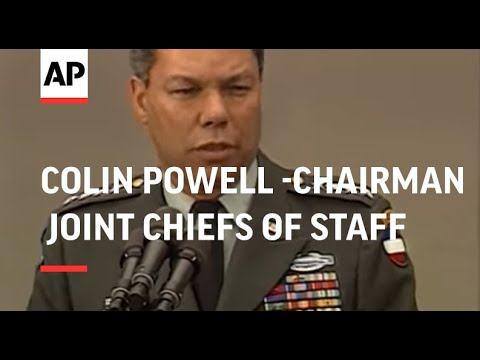 President George H.W. Bush names Army Gen. Colin L. Powell as chairman of the Joint Chiefs of Staff
