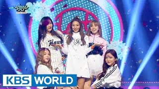 Gambar cover Red Velvet (레드벨벳) - Dumb Dumb [Music Bank HOT Stage / 2015.09.18]
