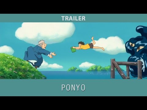Ponyo (2008) Trailer - YouTube