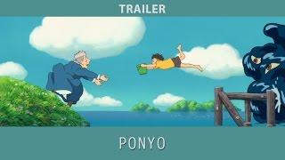 Ponyo 2008 Trailer Youtube