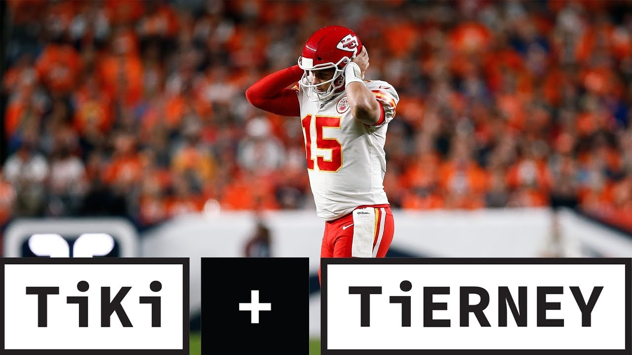 Patrick Mahomes Knee Injury Changes The Afc Playoff Race Tiki Tierney