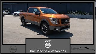 2019 Nissan Titan PRO 4X Crew Cab 4X4|A New Style Trial Walk Around Review