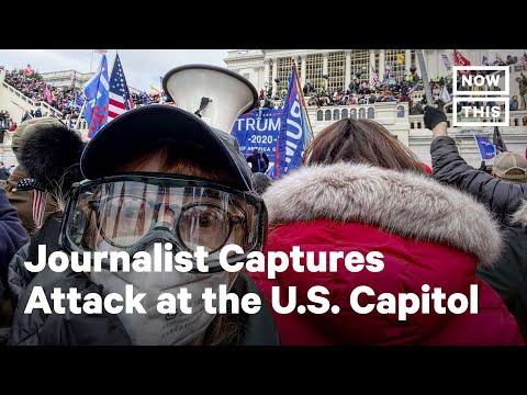 Inside the U.S. Capitol Attack, By Journalist Sandi Bachom